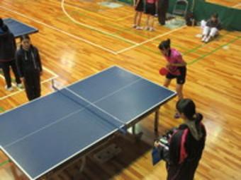 高校卓球部が新人戦県南予選でベスト8入りしました