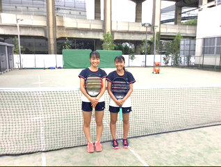 テニス部新人戦 団体 シングル ダブルスで県大会へ